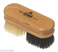 Kent Noir & Blanc Pure Bristle Duo Shoe shine en Bois Applicateur Polish Brush