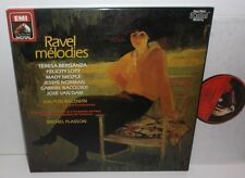 EX 27 0139 3 Ravel Melodies Berganza Lott Norman / Michel Plasson 3LP Box Set