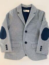 H & M Boys Blue Blazer Sport Coat Size 3/4