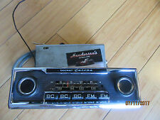 Becker Europa Stereo system AM FM with 4 Chanel power amp