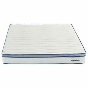"AmazonBasics Hybrid Mattress Memory Foam Strong Innerspring Support  8"" Twin XL"