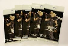 5 x Final Fantasy TCG Opus 4 Booster Packs English Edition New Sealed