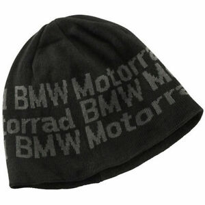 BMW Motorrad Genuine Two Layer Knitted Beanie Hat One Size