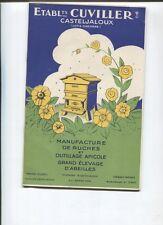 N°7727 / catalogue : Ets Cuvillier à Casteljaloux : ruches , outillage apicole