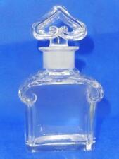Vintage Guerlain Baccarat Signed Perfume Bottle