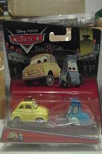 Disney Pixar Cars Luigi & Guido Mattel 1.55 Scale BNIB Rare