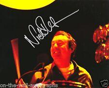 PINK FLOYD HAND SIGNED AUTOGRAPHED LIVE NICK MASON PHOTO! WITH PROOF + C.O.A.!