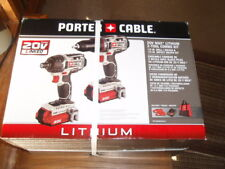 PORTER CABLE-#PCCK602L2 20 V MAX Lithium 2 Tool Combo Kit-NEW