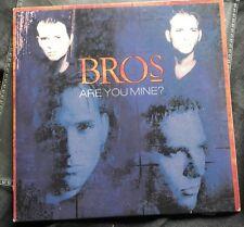 Bros - Are You Mine - Rare OZ ONLY Carded CD Different To UK Matt Goss Luke Goss