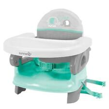 Toddler High Chair Portable Space Saver Infant Baby First Booster Seat Teal Gift