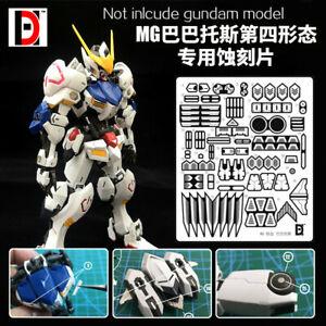 1/100 MG HIRM Barbatos 4th Form Gundam IRON-BLOODED ORPHANS metal etching sheet