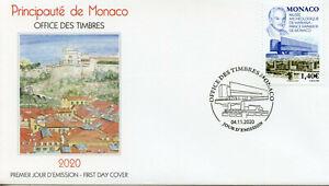 Monaco Stamps 2020 FDC Mariana Museum of Archaeology Prince Rainer III 1v Set