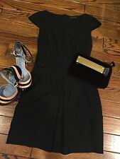 Piazza sempione Black Dress With Pockets And Fitted Top size s