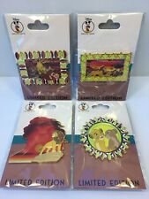Lion King Disney Employee Center Pin Set LE 250