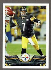 2013 Topps Football #310 Ben Roethlisberger Pittsburgh Steelers NMT