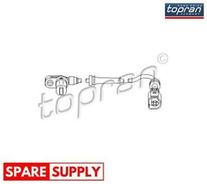 SENSOR, WHEEL SPEED FOR FORD SEAT VW TOPRAN 112 227
