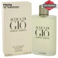 Aqua Acqua Di Gio Eau de Toilette by Giorgio Armani .17 1 2.6 3.4 6.7 for Men