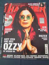 Metal Hammer 11/2001 OZZY OZBOURNE HIM LINKIN PARK ALICE COOPER IRON MAIDEN SODO