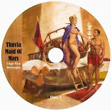 THUVIA MAID OF MARS by Edgar Rice Burroughs 5 Audio CDs