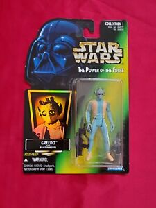 Kenner Star Wars Power of the Force Greedo Action Figure