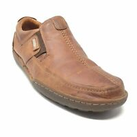 Men's Pikolinos Casual Loafers Shoes Size 44 EU/10.5-11 US Brown Leather S2