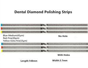 Dental Composite Abrasive Polishing Strips Finishing Diamond Sanding Stick Saw