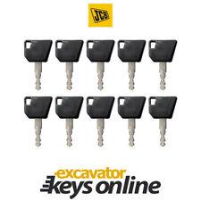 JCB Bomag Excavator Key (Set of 10) , Wacker Neuson, Hamm,14607 Master Key