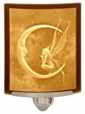 Fairy Moon Porcelain Lithophane Night Light - David Delamare Design