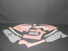 BRAND NEW GENUINE APRILIA RSV 1000 03 APRILIA BLACK FAIRING DECAL SET AP8177429