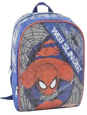 Sac Sac À Dos Cartable SpiderMan original Marvel misureL 24 cm xh 36 cm x W 10.5