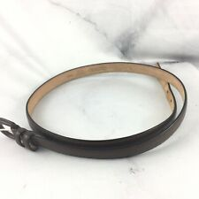 TALBOTS Leather Belt Brown Women's Size Large 6303 Made in Italy