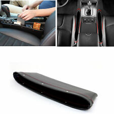 2X Car Caddy Seat Slit Leather Pocket Box Organisers Storage Car Pouch Holder UK