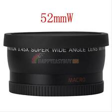 52MM Wide Angle Lens 0.45x Fisheye Macro for Nikon DSLR D3200 D3100 D5200 D5100