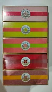 Roger & Gallet Perfumed Soap Coffret 3 x 100g + free gift *Choose your scent*