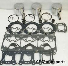 WSM 010-826-20 Yamaha 1200 Top End Piston Rebuild Kit  Non Power Valve Engine
