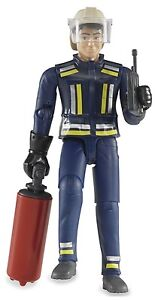 Bruder®  60100  Feuerwehrmann mit Zubehör , NEU & OVP,  DHL - Paketversand