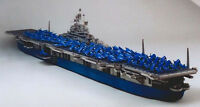 1:400 Scale U.S. aircraft carrier intrepid aircraft carrier battleships CV-11