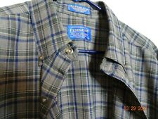 Vintage Sir Pendleton Long Sleeve Wool Shirt Sz L