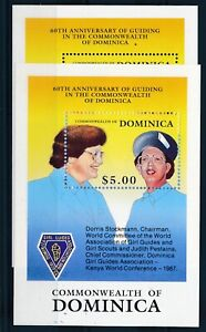 [342548] Dominica scouting good very fine MNH sheet X2