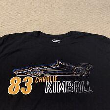 Charlie Kimball #83 Indy Car Series Racecar Racing T Shirt Mens XL