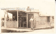 RPPC-Early Hippie-Artist-Roadside Art Studio-Wonderland Art