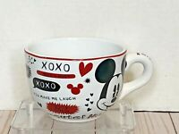 DISNEY Minnie Mouse I'm Your Girl Jumbo Coffee Tea Handled Soup Cereal Mug Cup