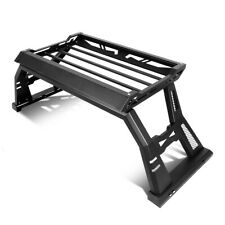 For 2009-2020 Ford F150 Off Road Truck Bed Roll Bar + Top Luggage Carrier Basket