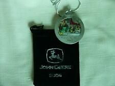 John Deere 2004 Pewter Medallion-JD GP Tractor-#9-NIB