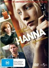 HANNA - BRAND NEW/SEALED REG.4 DVD (CATE BLANCHETT, ERIC BANA, SAOIRSE RONAN)
