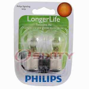Philips Front Side Marker Light Bulb for Cadillac Seville 1979 Electrical gv