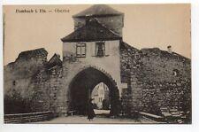 DAMBACH Bas Rhin Alsace CPA 67 une porte