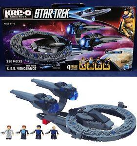 New U.S.S. VENGEANCE Star Trek KRE-O A4364 BUILDING SET Construction SPACE SHIP