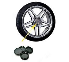 4PCS 58mm/53mm Black ABS Car Wheel Center Hub Caps Decorative Cover Set