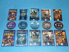 5x LOTR Il Signore degli Anelli & Hobbit > RPG Gioco Bundle per PS2 GC * * COMPLETO
